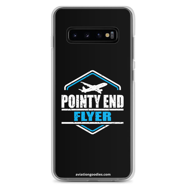 Pointy End Flyer Black - Samsung Case - all sizes
