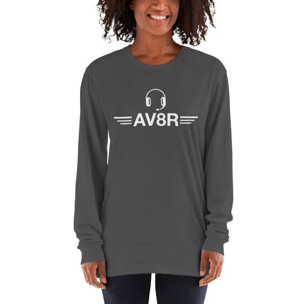 AV8R (dark color options) - Long sleeve t-shirt