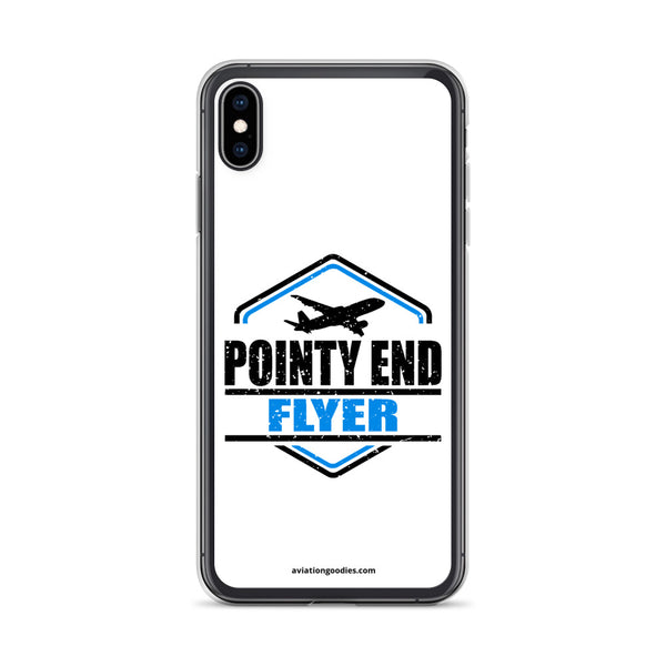 Pointy End Flyer White - iPhone Case - all sizes