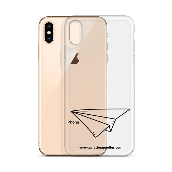 Paper Plane iPhone Case