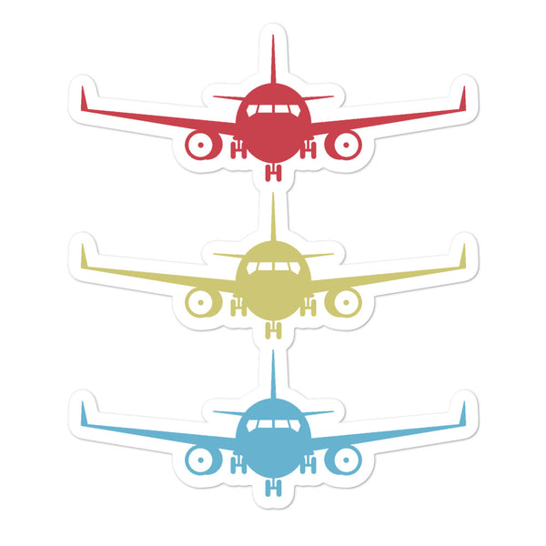 Bubble-free stickers - Stacked Aircraft