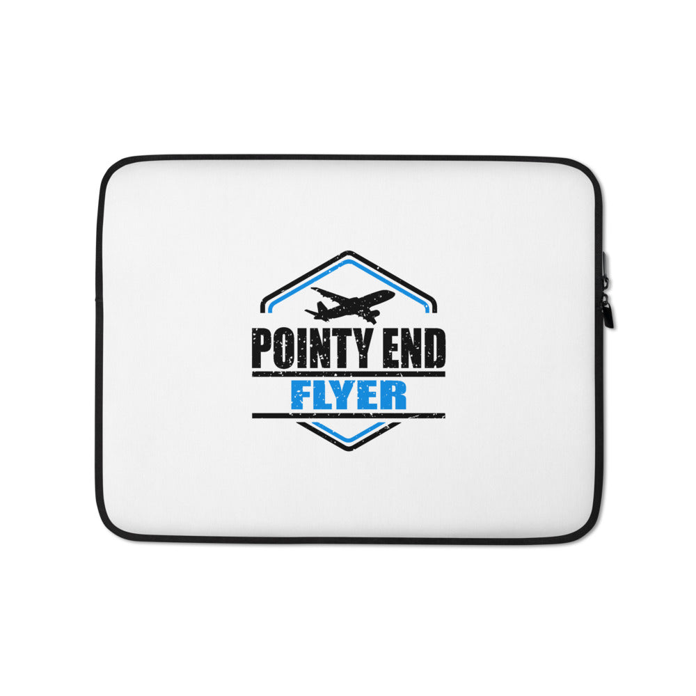 Pointy End Flyer Laptop Sleeve