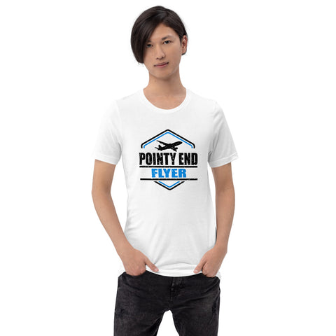 Pointy End Flyer (light color options) - Short-Sleeve Unisex T-Shirt