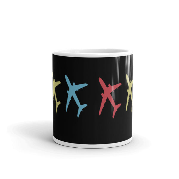 Plane Wrap Coffee Mug