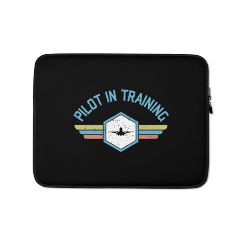 Pilot In Training Laptop Sleeve
