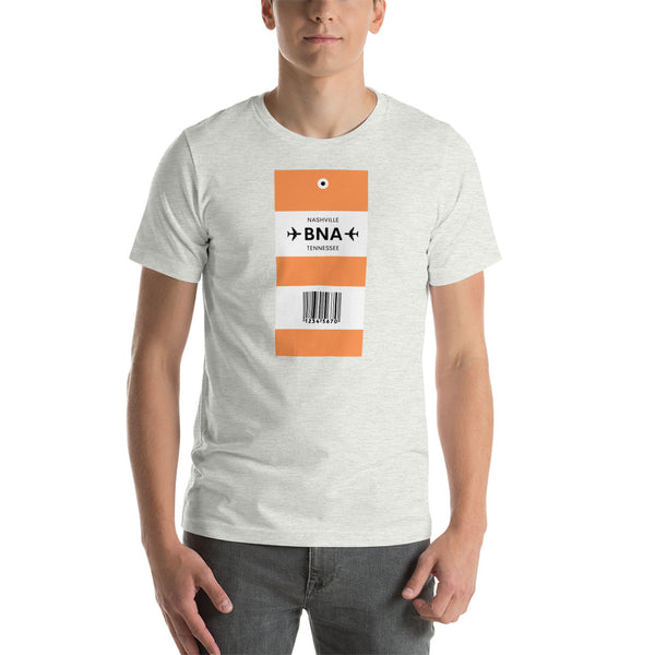 Destination Bag Tag Short-Sleeve Unisex T-Shirt