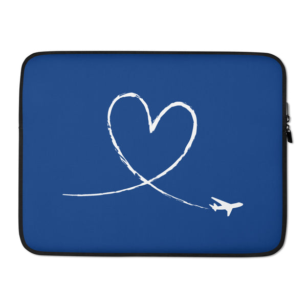 Love To Fly (Blue) Laptop Sleeve
