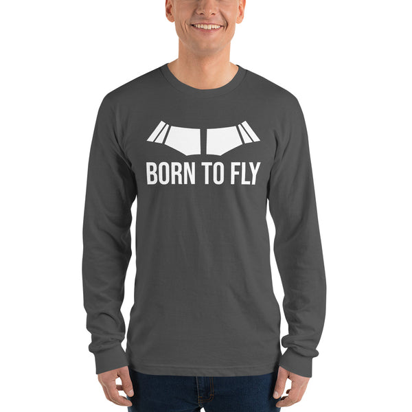 Born To Fly (dark color options) - Long Sleeve T-shirt