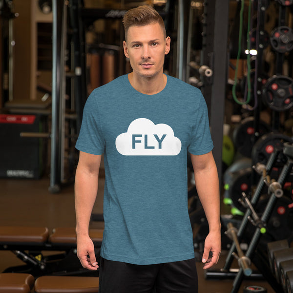 Fly in the Clouds - Short-Sleeve Unisex T-Shirt