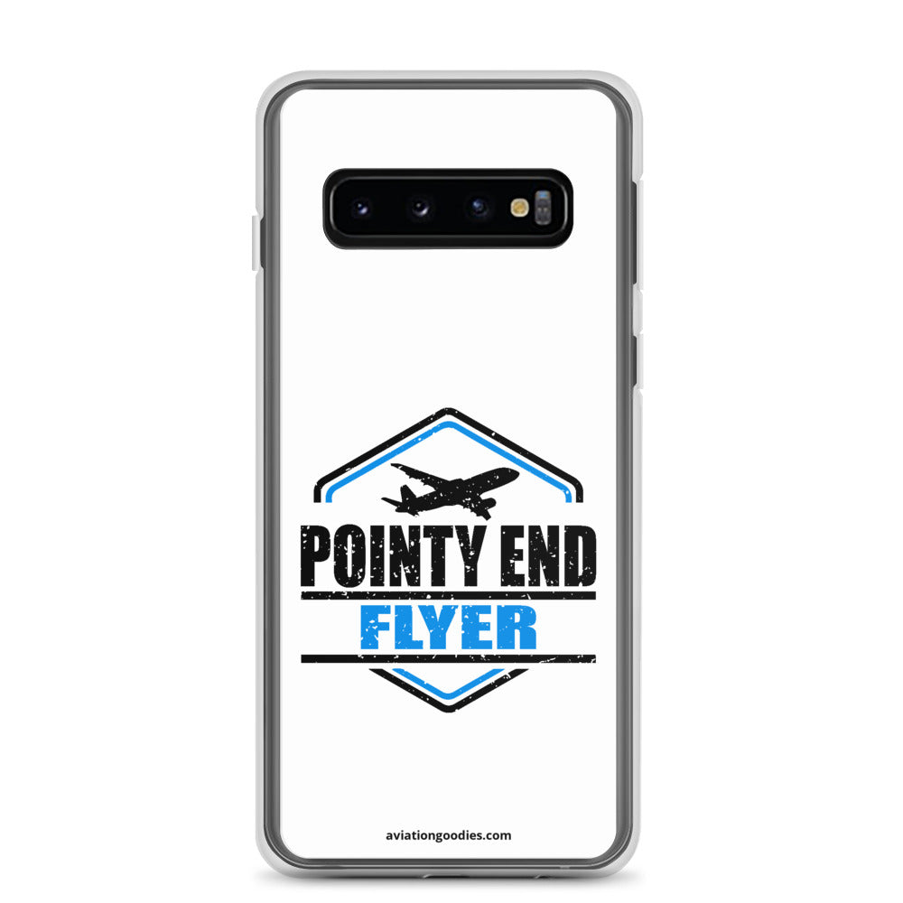 Pointy End Flyer White - Samsung Case - all sizes
