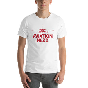 Aviation Nerd - Short-Sleeve Unisex T-Shirt