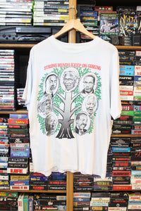 Vintage African American Strong Minds Tee size M/L