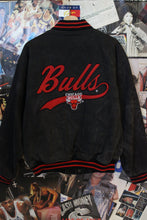 Load image into Gallery viewer, Vintage Chicago Bulls Varsity Jacket size L/XL