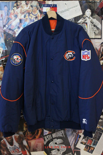 Vintage Chicago Bears Starter Jacket size XL