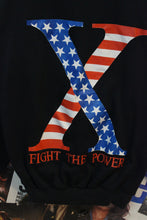 Load image into Gallery viewer, Vintage Malcolm X Public Enemy Fight The Power Spike Lee Sweater size M