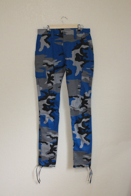 Tapered Blue Army Pants size 32 by Haus of Vain
