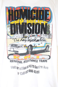 HOMICIDE DIVISION Tee size L by Haus of Vain