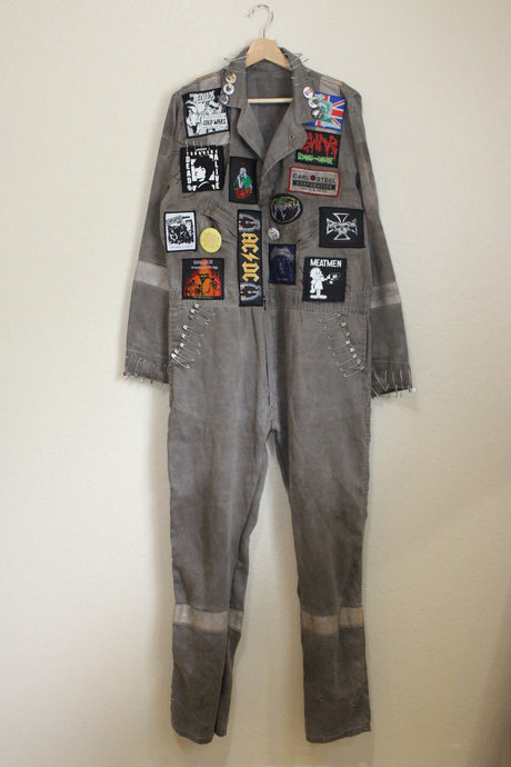 KNOW FEAR Coveralls size M by Haus of Vain