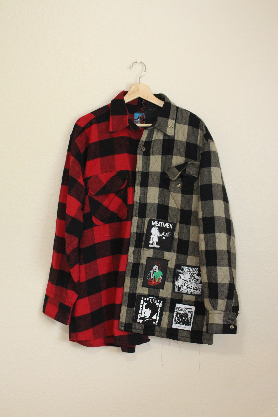 The WARRIORS Split Flannel size XL by Haus of Vain