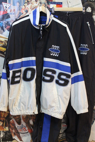 Vintage HUGO BOSS Jacket and Joggers Set size XL/XXL