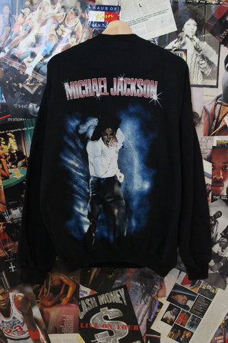 Vintage Micheal Jackson Rap Tee Style Sweater size L/XL