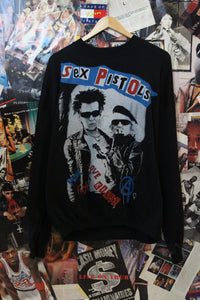 Vintage Sex Pistols Anarchy & Sex Sweater size L/XL