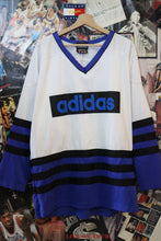 Load image into Gallery viewer, Vintage Adidas Hockey Jersey size XL