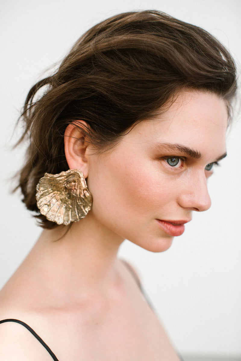 Copia Earring Gold