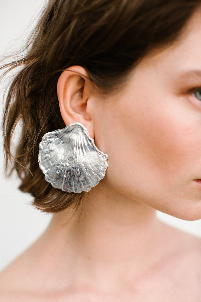 Copia Earring Silver