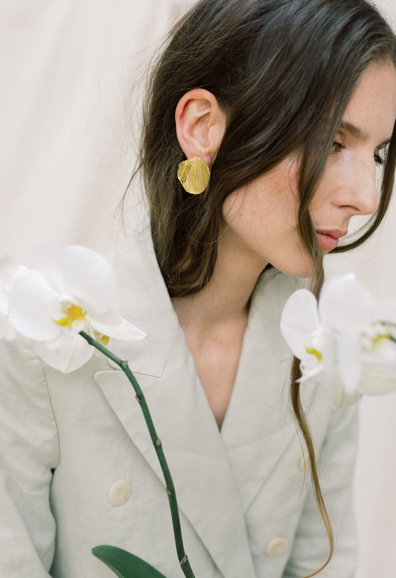 Orchid Earring