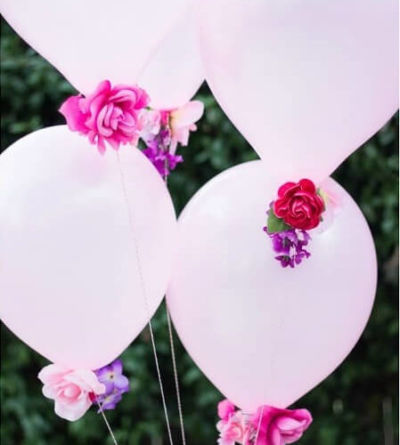 How to make DIY Flower Balloons