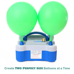 Electric Air Pump with Timer for Perfect Balloon Sizes
