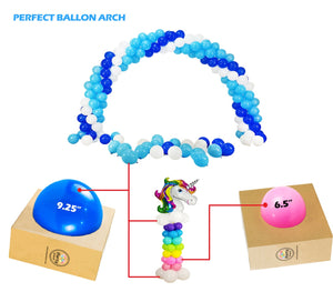 Balloon Sizes Measuring Boxes