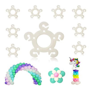 120 PCS Balloon Rings Clips for Balloon Arch kit and Balloon Column Stand