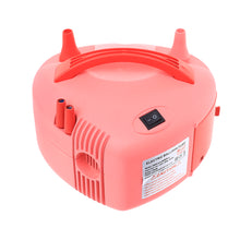 Load image into Gallery viewer, Electric Balloon Air Pump Inflator Dual Nozzle Blower Portable Fast Easy Balloon Filler Pink