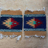 Zapotec Coasters Set of 2, Geo XVI