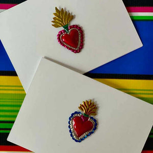 Hojalata Heart Cards