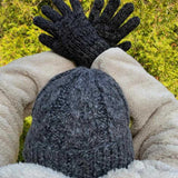 Cable Knit Alpaca Men's Hats