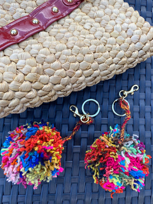 Pom Keychain |  Fair Trade | Picchu + Bold