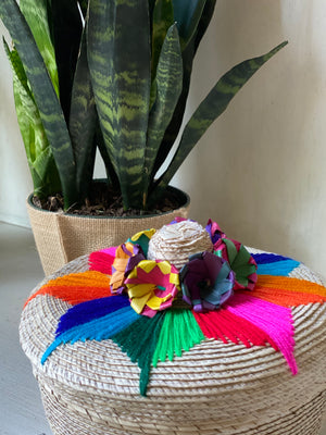 Mexican Basket | Fair Trade | Picchu + Bold