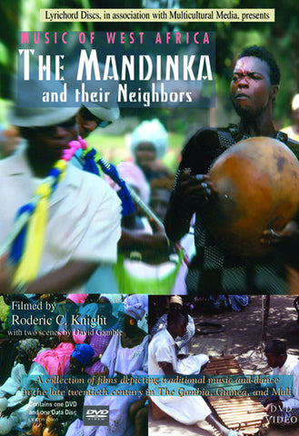 Music of West Africa: The Mandinka and their Neighbors DVD/CD