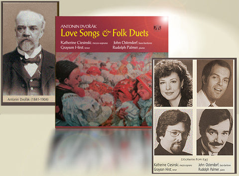 "Antonin Dvorak - Love Songs & Folk Duets <font color=""bf0606""><i>DOWNLOAD ONLY</i></font> LYR-6011"