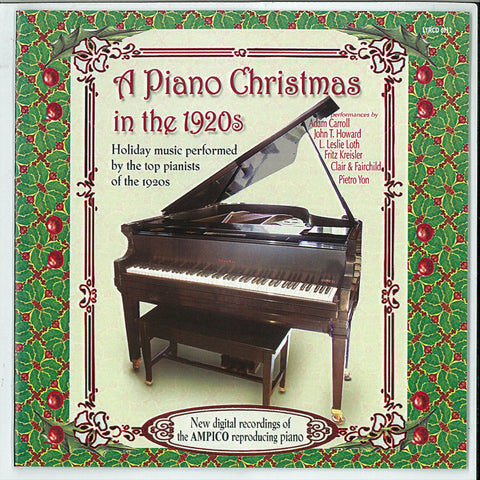 "A Piano Christmas in the 1920s <font color=""bf0606""><i>DOWNLOAD ONLY</i></font> LYR-6012"