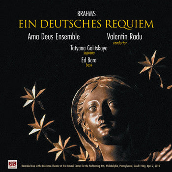 "Brahms: Ein Deutsches Requiem - <font color=""bf0606""><i>DOWNLOAD ONLY</i></font> LYR-6014"
