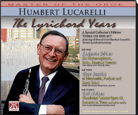 "HUMBERT LUCARELLI  ""THE LYRICHORD YEARS"" 3 CD Box Set LYR-6025"