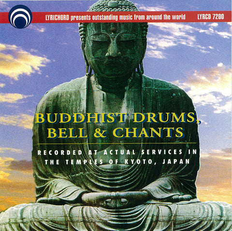 Buddhist Drums, Bell and Chants CD LYR-7200