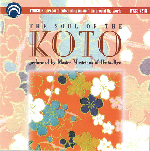 "The Soul of the Koto Vol 1 <font color=""bf0606""><i>DOWNLOAD ONLY</i></font> LYR-7218"