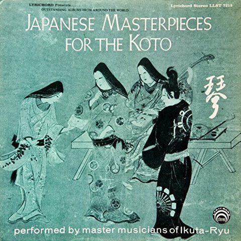 "Japanese Masterpieces for the Koto <font color=""bf0606""><i>DOWNLOAD ONLY</i></font> LAS-7219"