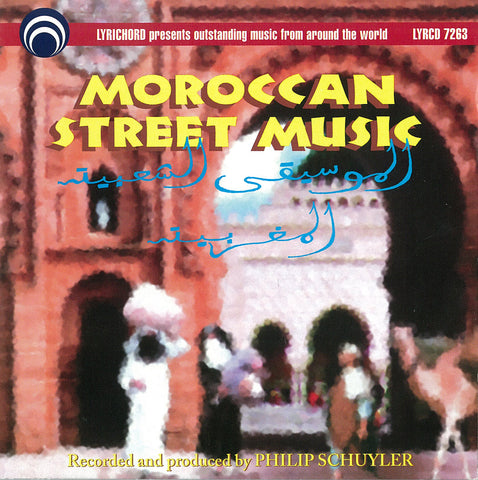 Moroccan Street Music CD LYR-7263