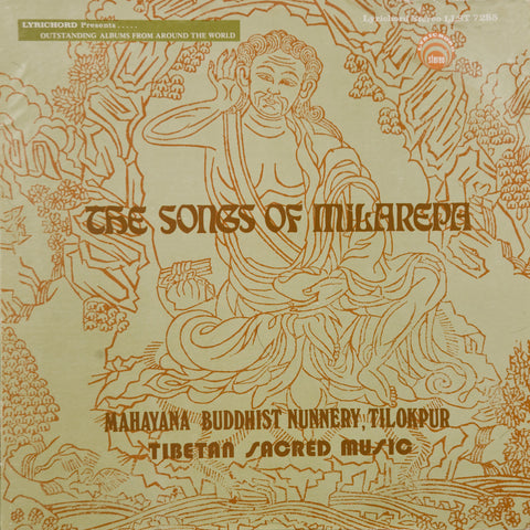 "The Songs of Milarepa: Sacred Tibetan Music <font color=""bf0606""><i>DOWNLOAD ONLY</i></font> LAS-7285"